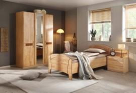 Schlafwelt Schlafzimmer-Set (4-tlg.) »Sarah«, natur, ohne Aufstellservice, mit 3-trg. Schrank
