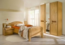 Schlafwelt Schlafzimmer-Set (4-tlg.) »Sarah«, natur, mit Aufstellservice, mit 2-trg. Schrank