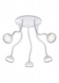 TRIO LEUCHTEN LED-Deckenleuchte, weiß, EEK A++