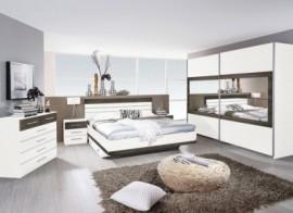 Rauch rauch Schlafzimmer-Spar-Set (4-tlg.), braun, mit Aufbauservice