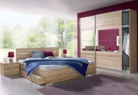 Rauch rauch Schlafzimmer-Set (4-tlg.), natur, Breite 225 cm