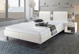 Schlafwelt Bett, schwarz, 140/200 cm, mit Aufbauservice