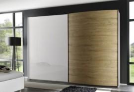 LC LC Schlafzimmer-Set (4-tlg.), natur, Set mit Schrank Breite 240 cm