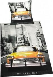 Funky Monkey Bettwäsche »Taxi«, schwarz, 1x 135x200 cm