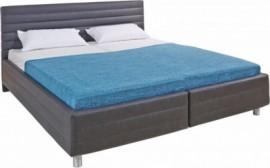 Schlafwelt Polsterbett, weiß, Breite 140/200 cm, Bonnell-Federkernmatratze H2, H2