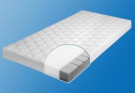 ZÖLLNER Matratze für Babys & Kleinkinder »Joy«, weiß, 70x140 cm, Kern 8 cm