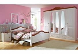 Premium collection by Home Affaire Schlafzimmer-Set (4-tlg.) »Wales«, weiß, ohne Aubauservice, FSC®