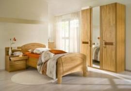 Schlafwelt Schlafzimmer-Set (4-tlg.) »Sarah«, gelb, ohne Aufstellservice, mit 2-trg. Schrank
