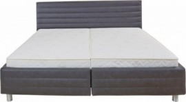 Schlafwelt Polsterbett, weiß, Breite 180/200 cm, Bonnell-Federkernmatratze H3, H3