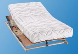 BeCo Set: Komfortschaummatratze   Lattenrost »Lux & Perfekta«, 2 (0-80 kg), 80x200 cm, FSC®